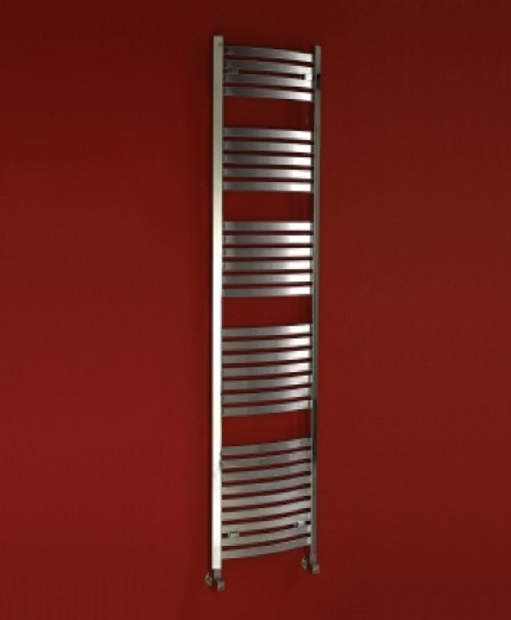 Phoenix Rochell Curved Heated Towel Rail In Stock Bathrooms